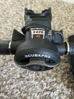 ScubaPro Mens Hydros Pro Air 2 BCD, MK25 Evo S620Ti Reg, Tank & More