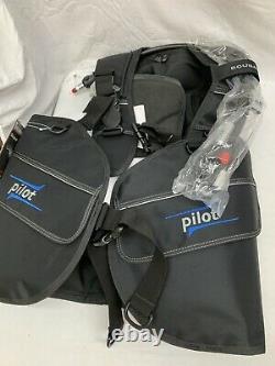 ScubaPro Pilot BCD Buoyancy Compensator Standard Inflator 22.305.310 Med Scuba
