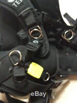 ScubaPro S-Tek, RecTek BCD With Air2 Size M/L Scuba Vest