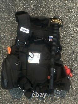 Scuba Diving Bundle With Zeagle Ranger BCD Dive Foat And Dive Flag