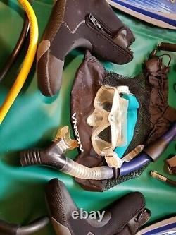 Scuba Diving Complete Rig, Recreational, Mares Kaila BCD, Suunto, CHEAP DEAL