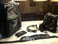 Scuba Diving Equipment Complete Set MALE- XL, BCD, Regulator, Bag, Belt