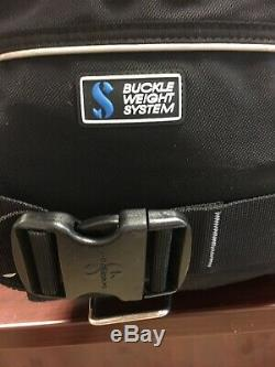 Scuba Pro Glide Pro Weight Integrated BCD Size XL SCUBA Diving