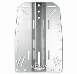 Scuba diving wing. Stainless backplate 316 made in UK. New Red Hat Diving