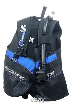 Scubapro Accent BCD Buoyancy Compensator Blk/Purple Size MD for Scuba Diving