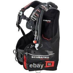 Scubapro Equator BCD, Black/Red