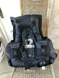 Scubapro GLIDE PLUS With Air 2 Scuba BCD Size Large, Weight Integrated Dive BC
