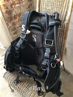 Scubapro GLIDE PRO BCD, Size Large, Weight Integrated Dive BC