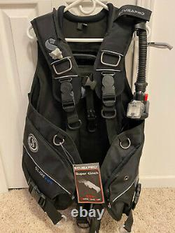 Scubapro Glide Pro with Air2 Size Large UNUSED