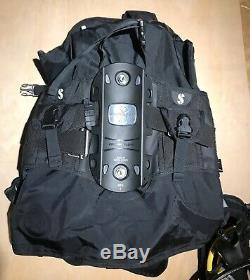 Scubapro Hydros Pro BCD Size Small New Scuba Diving Vest And Bag