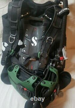 Scubapro Hydros Pro mens xl-xxl BCD with air 2, with backpack
