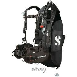 Scubapro Hydros Pro withBalanced Inflator BCD-Black Large