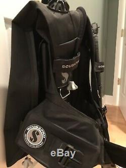 Scubapro Knighthawk Bcd With Air II, Size Medium, Black, Great Condition