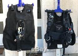 Scubapro Knighthawk With Air2 Atomic Hose BCD Medium, Black with Hanger