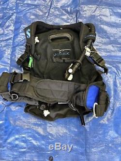 Scubapro LadyHawk weight integrated BCD, Blue/Blk Size M