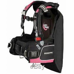 Scubapro Ladyhawk BCD Brand New, sizes L-ML (available in Blue or Pink)