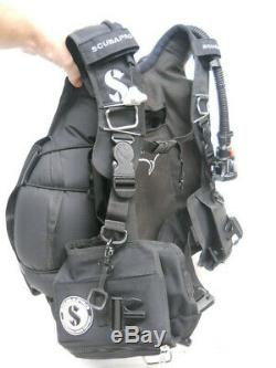 Scubapro NightHawk BCD with Air 2 Inflator, XXL, Back Inflation BC