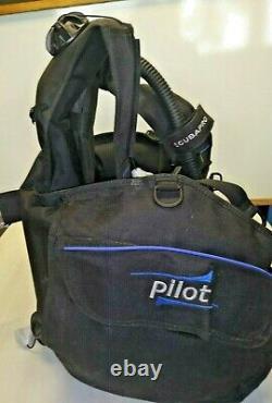 Scubapro Pilot BCD With Inflator. Black. Size Medium scuba diving