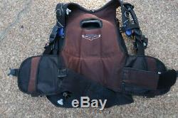 Scubapro Seahawk Buoyancy Compensator BCD BC Size LARGE Scuba Diving Gear