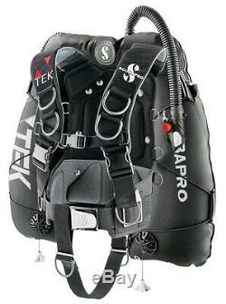 Scubapro X-Tek Formtek harness system with60lb wing