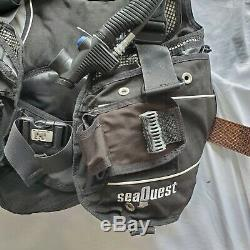 SeaQuest Pro QD+ Scuba BCD Size XS