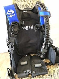 Seaquest Aqualung BALANCE Scuba BCD Size Small, Airsource, Weight Integrated BC