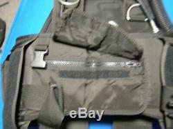 Seaquest Aqualung Black Diamond Buoyancy Compensator BCD XL Integrated Weights