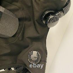 Seaquest Latitude XLT Buoyancy Compensator Vest Used M/L Scuba Diving Knife