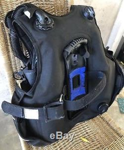 Seaquest PRO QD Scuba BCD Size Medium/Large (M/L) Weight Integrated Dive BC