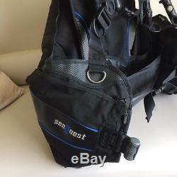 Seaquest Pro QD BCD Scuba Jacket in Xl Reduced No Offers