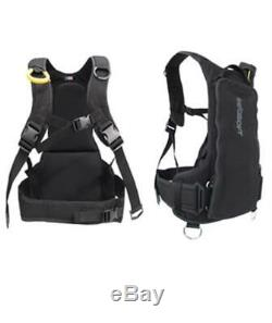 Seasoft Back Mount Dive Vest Freediving Gear Comfortable Even Distributed Weight