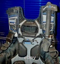 Seemann Blac Jac Tauchjacket, integriertes Bleitaschensystem, Größe M, §R