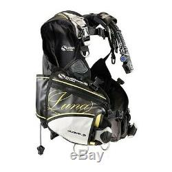 Sherwood Luna BC Women's SCUBA Diving BCD Dive Ladies LARGE Weight Integrated