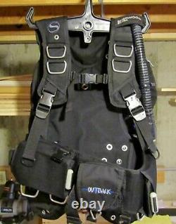Sherwood Outback Buoyancy Compensator BC/BCD Size MD Scuba Safety Dive Equipment
