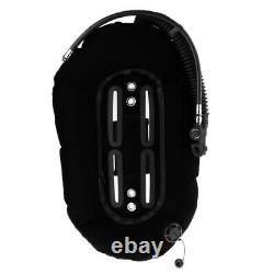 Snorkeling Dive Donut Wing with Single Tube BCD Buoyancy Compensators Black