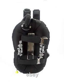 SoprasTek BCD 30lb bladder Stainless Steel backplate Single Tank BC Scuba Diving