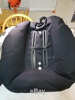 Sopras Sub Doubles Tec Diving Bcd Harness 45 Lb Lift Wing Ss Backplate Scuba