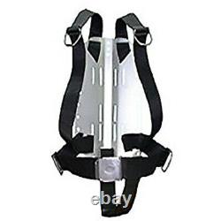 Storm Stainless Steel Technical Divers Backplate with Harness and Crotch Strap