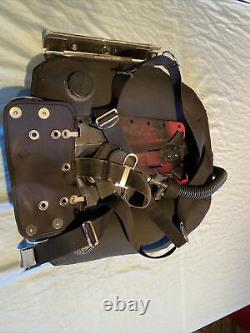 Tech Diving Wing Harness Steel Backplate Buttplate Complete Setup