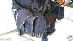 Typhoon MD Weight Pockets Scuba Diving BCD Size L
