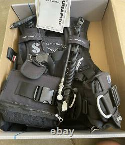 Unused Scubapro KNIGHTHAWK SCUBA Dive BCD, Size Large BC, Never Been In Water