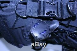 Used Sea Quest Black Diamond BCD Scuba Weight Integrated M/L Airsource Inflator