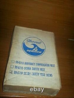 VINTAGE Nemrod Horseshoe BC ORIGINAL BOX and PAPERWORK