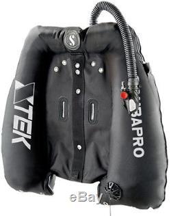 X-TEK HS Wing Single Bladder Scubapro diving 27kg 60lbs Technical BCD Tec