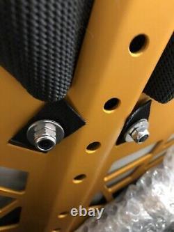 Xdeep NX ZEN Ultralight Deluxe backplate Single Tank Adapter #Z008 Black-Orange