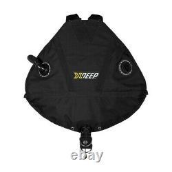 Xdeep Stealth 2.0 Rec / Scuba Diving / Cave Diving Harness BCD (Black)