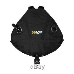 Xdeep Stealth 2.0 Tec / Scuba Diving / Cave Diving Harness BCD (Black)