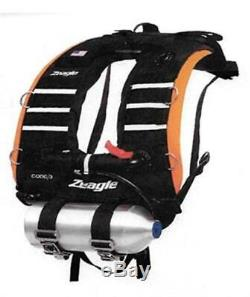 Zeagle Code 3 Vest Rapid Diver BC/BCD with Envoy/Razor II Regulator Scuba Rescue