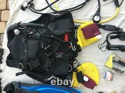 Zeagle Ranger BCD, All Black Large Fresh water only, Total10 dives