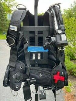 Zeagle Ranger BCD Mens XL with Ripcord Weight System plus Inflator Hose